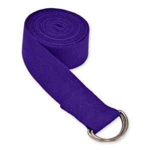 חגורת יוגה סגולה