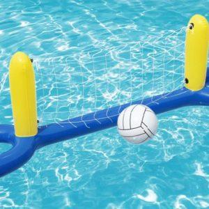 רשת כדורעף לבריכה
